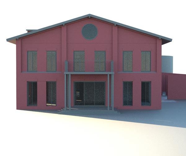 Ombygning af Bauernhof Hollenbek