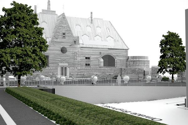 Ny forplads til Rosenhuset