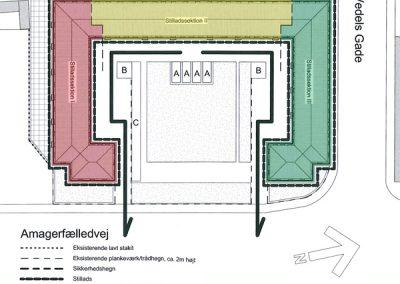 Bertelsen & Scheving - Samrådets Boligselskab - Facaderenovering