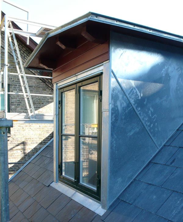 Bertelsen & Scheving - privat bolig - ombygning tag