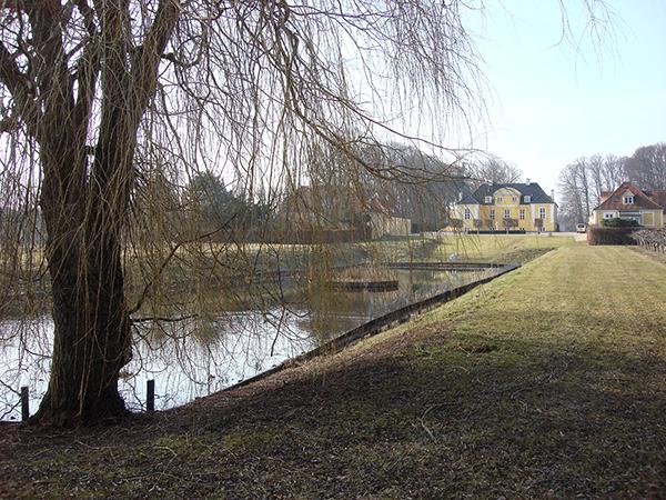 Skitse til helhedsplan for Frydenlund Slot