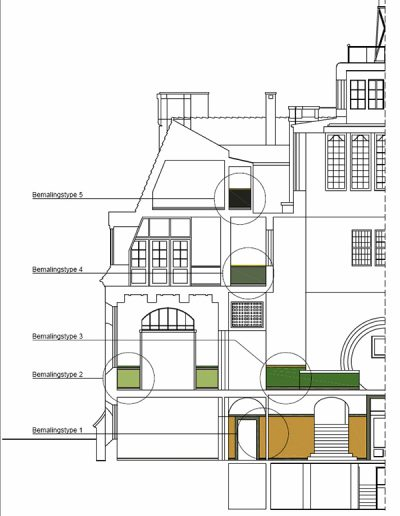 Bertelsen og Scheving - Rosenhuset - Restaurering
