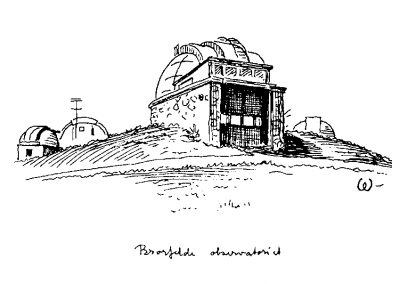 Bertelsen og Scheving - Brorfelde Observatorium - Fredningsværdier og helhedsplan