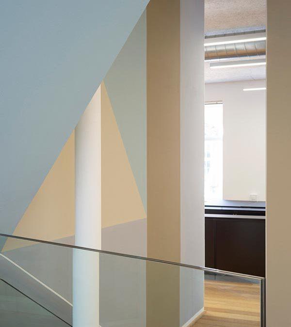 Klima-, Energi- og Bygningsministeriet: Lys og farver til kontormiljøet