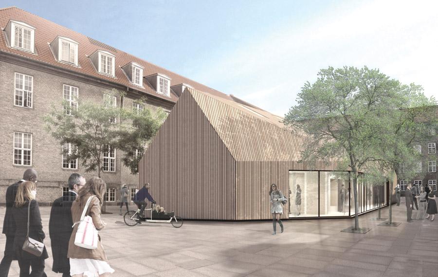 Slotsholmens nye mødelokale af træ