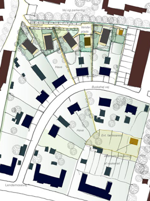 Buskehøj: Ny haveby med respekt for områdets logik