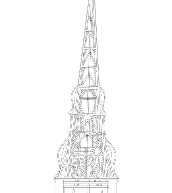 Nysted Kirke: Restaurering af kirketårn