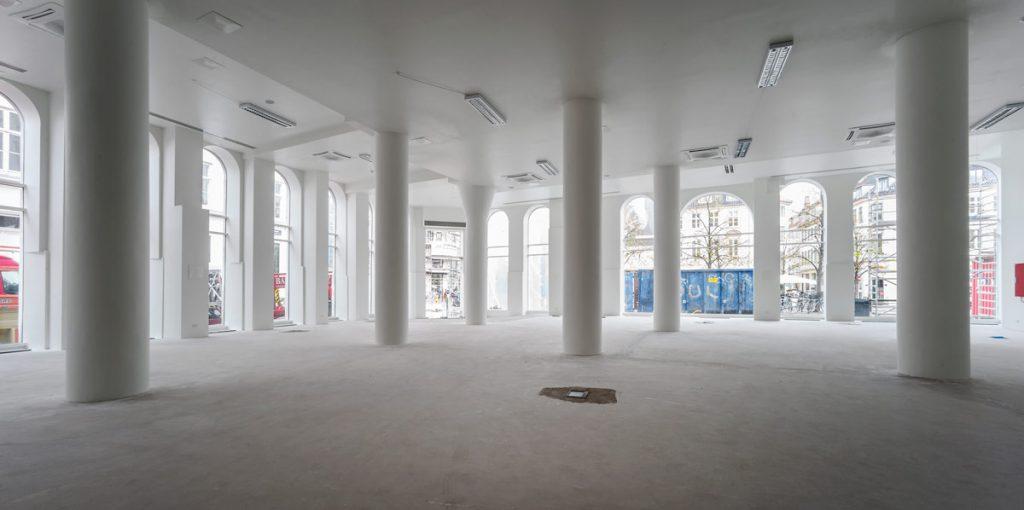Bertelsen & Scheving - Hoejbro Plads 4 - Ombygning - Butikslejemål - Hermes