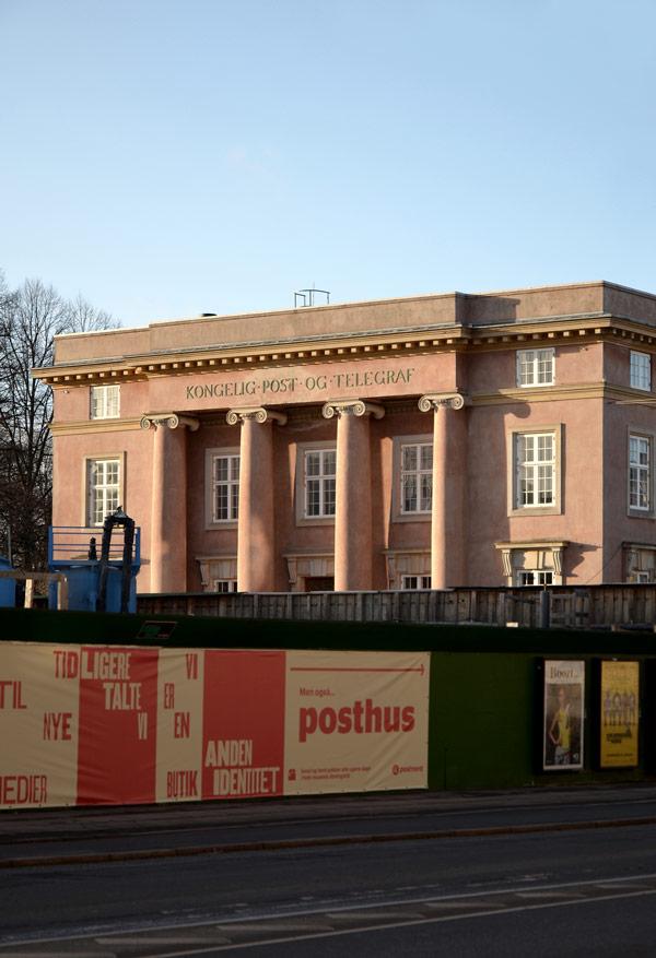 Bertelsen & Scheving -Enigma Torv - Post og tele museet - Ombygning