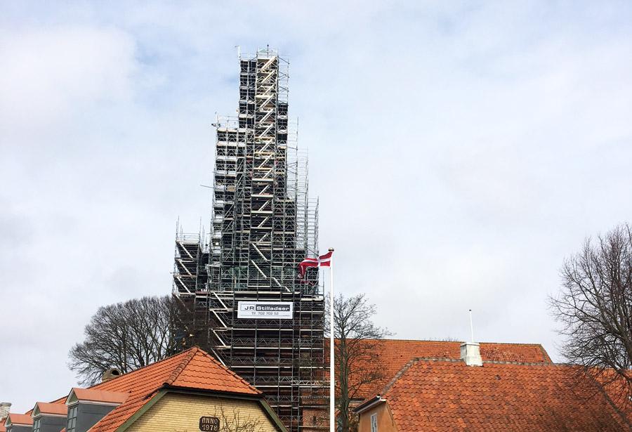 Restaurering af Nysted Kirke