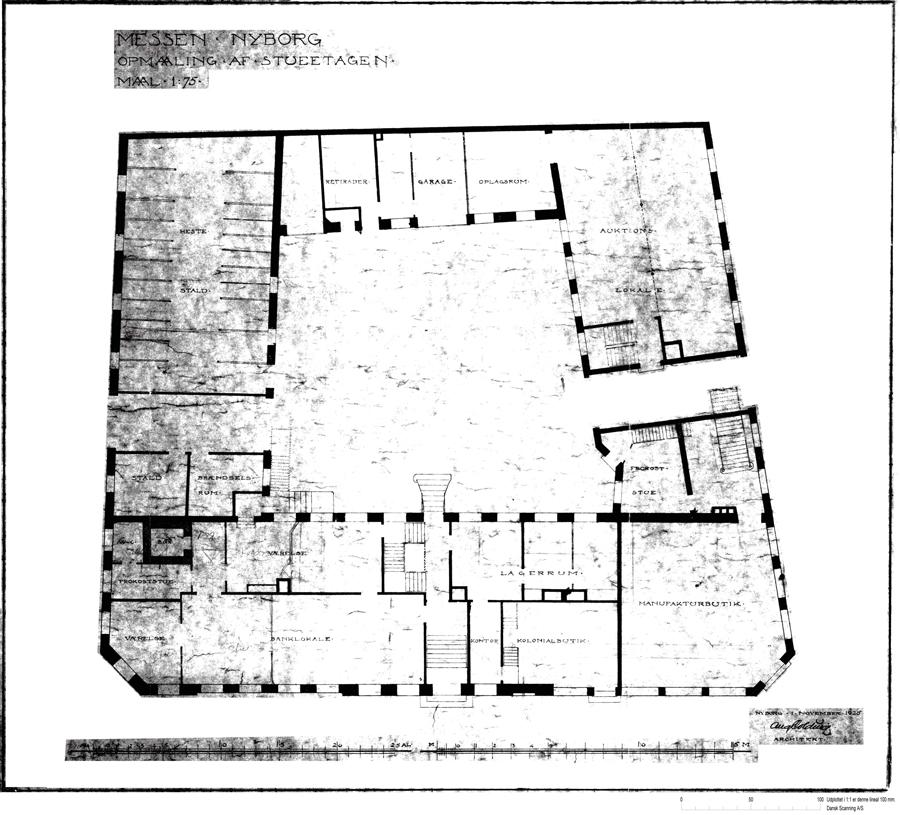 Bertelsen & Scheving - Den Rosenvinske Gaard - Korsgade Nyborg - Fredet - ombygning