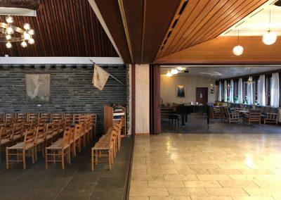 Bertelsen & Scheving - Kong Haakons Kirke - Renovering - Indretning