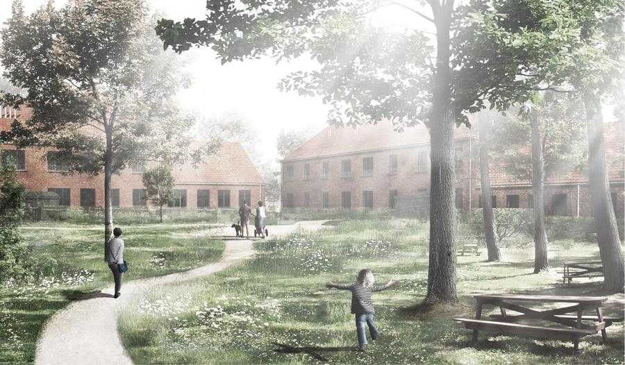 Boliger i Sorø under opførelse