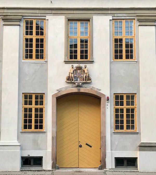 Holsteins palæ: Facaderenovering
