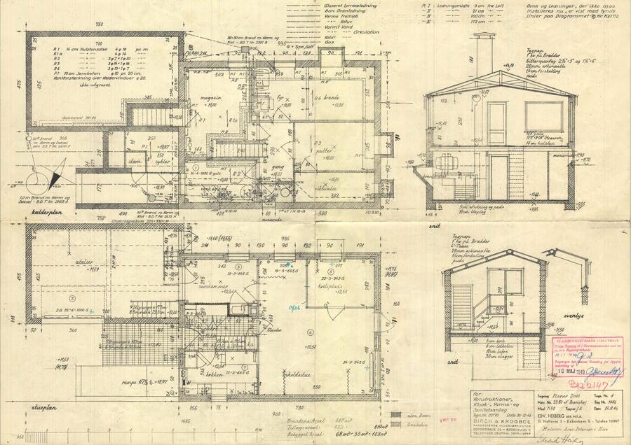 Bertelsen & Scheving - Efterkrigsvilla - Fredningsforslag