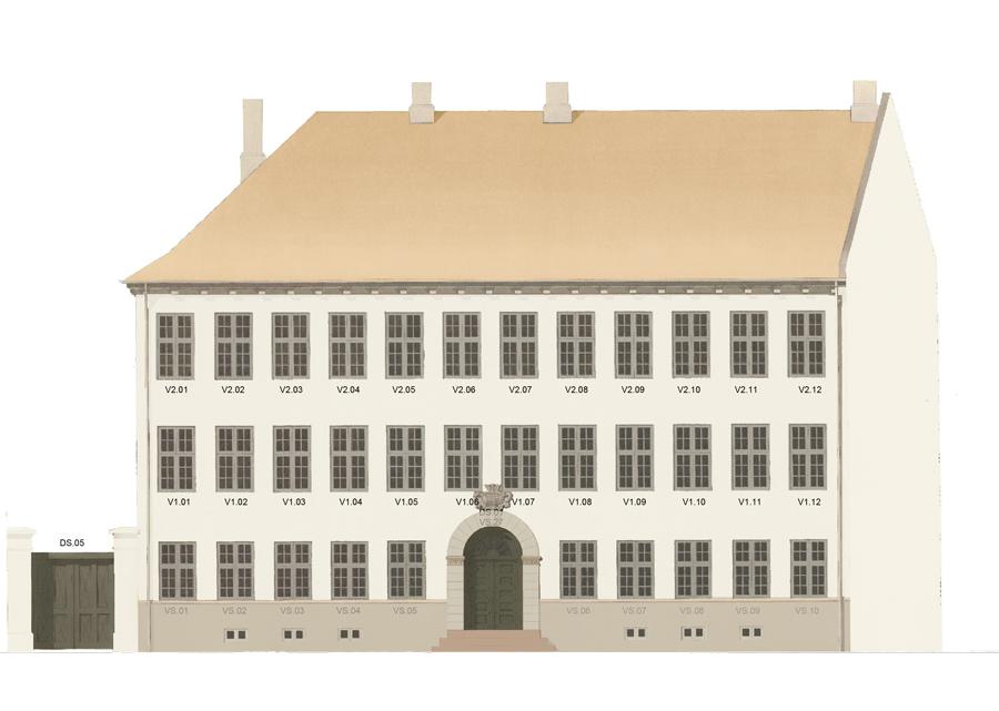 Restaurering af Borchs Kollegium