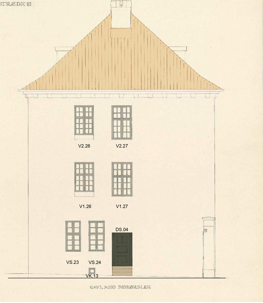 Bertelsen & Scheving Arkitekter - Borchs kollegium - Facaderestaurering
