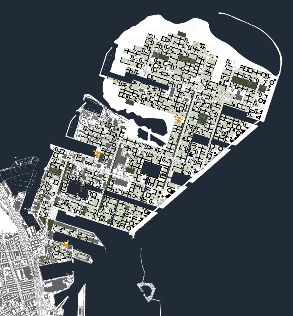 Bertelsen & Scheving - Nordhavn Konkurrence - Byplanlægning
