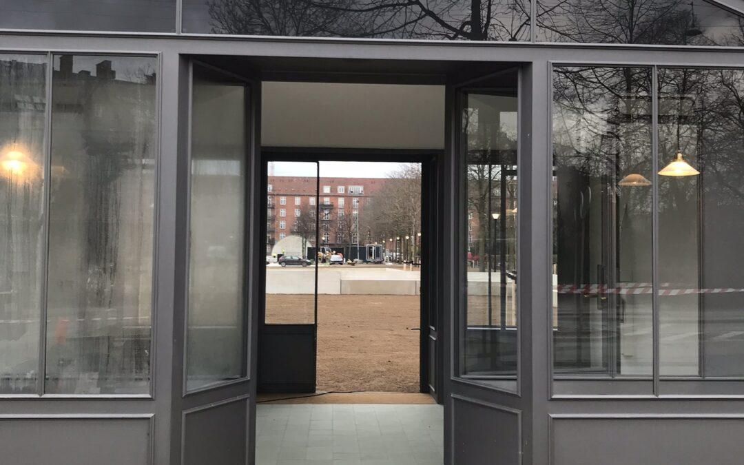 Enghaveparken: Arne Jacobsens boder