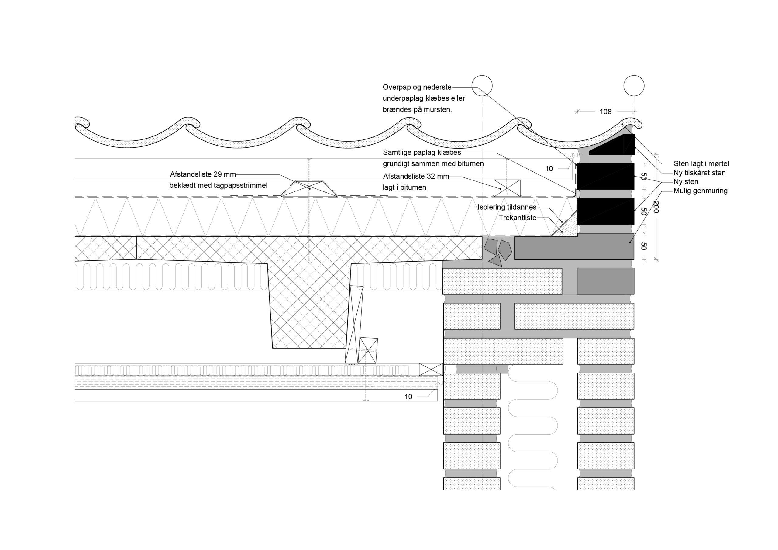 Bertelsen & Scheving - Gladsaxe Skole - Tagudskiftning