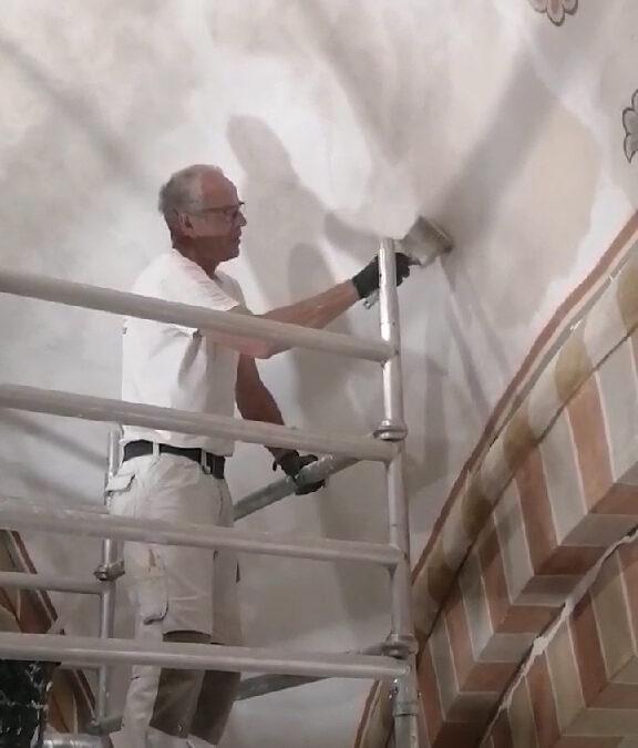 Sorø Klosterkirke: byggepladsbilleder