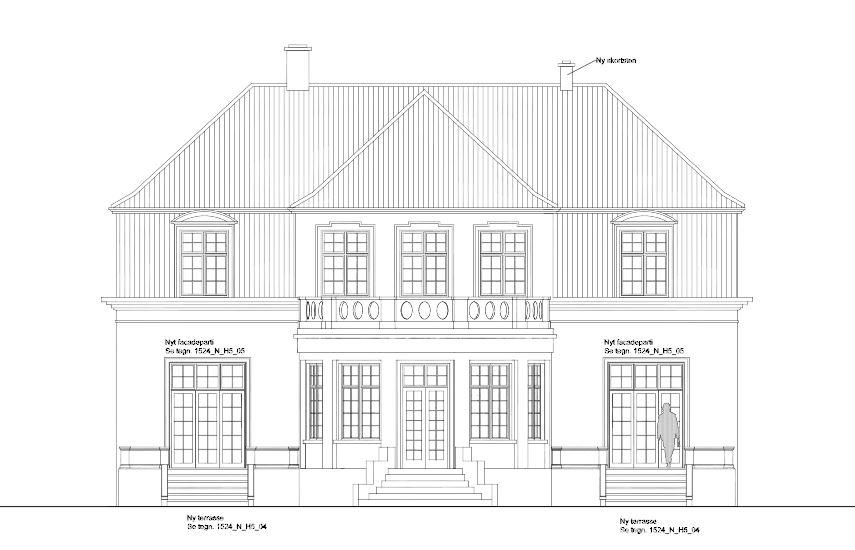Bertelsen & Scheving - Privat villa - Totalrenovering