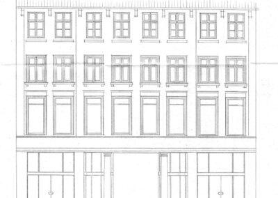 Bertelsen & Scheving - Ombygning - Ny facade - Østergade 16