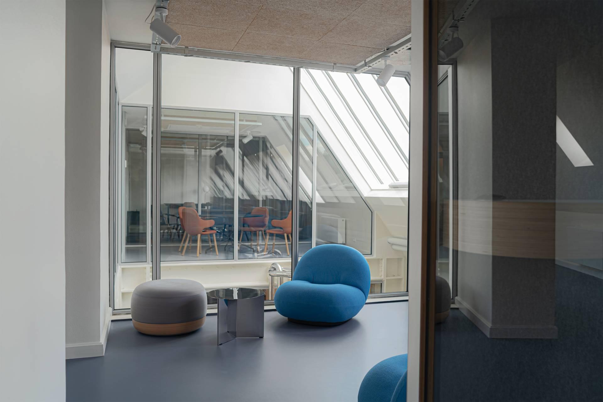 Station - interiør, Bertelsen og Scheving Arkitekter, Restaurering