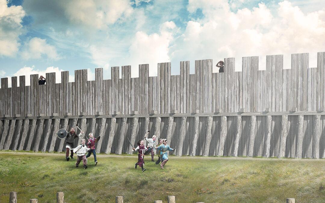 At genskabe det forsvundne – vikingeborgen Trelleborg