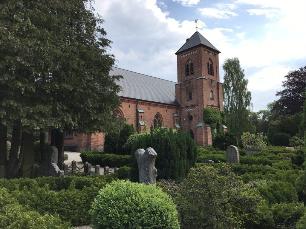 Bertelsen & Scheving - Taarbæk kirke - nyt menighedshus