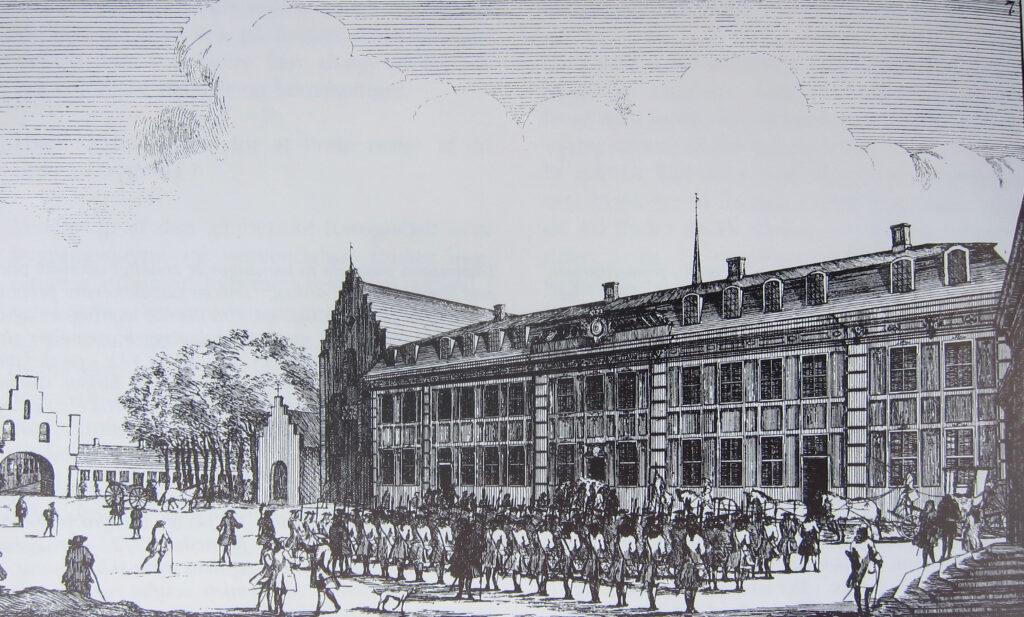 Bertelsen & Scheving, Sorø Klosterkirke (1740)