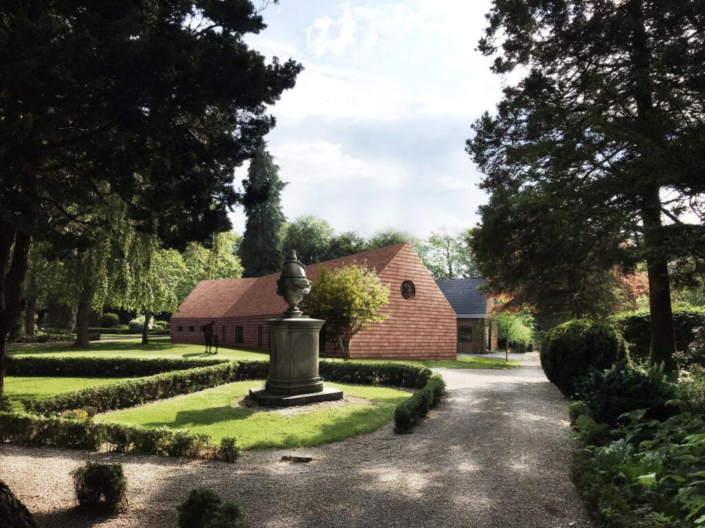Bertelsen & Scheving - Taarbæk menighedshus - forslag