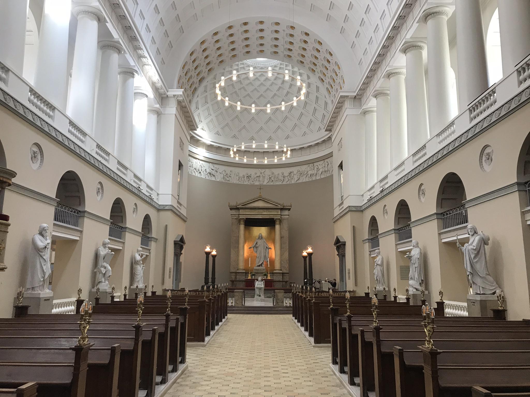 Bertelsen & Scheving Akitekter, Vor Frue Kirke, Restaurering