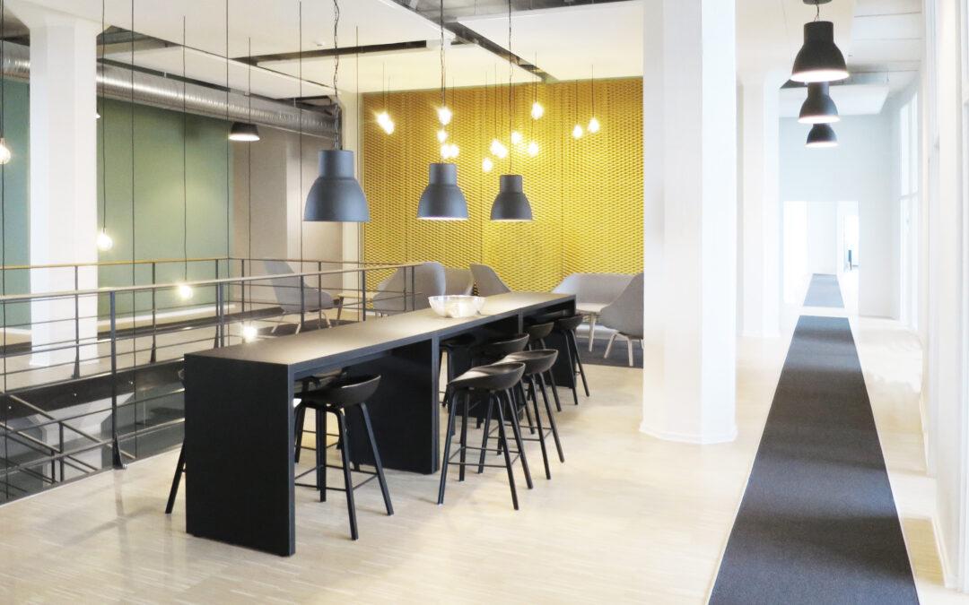 Socialstyrelsen: fra industri til moderne kontor