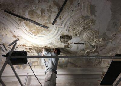 Bertelsen & Scheving - Holsteins Palæ - restaurering efter brand